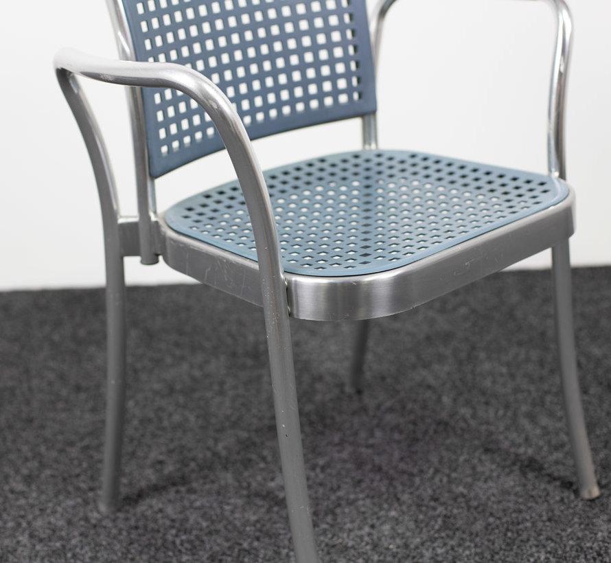 DePadova Silver - Designstoel - Armleggers
