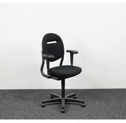 Ahrend Ahrend 220 Bureaustoel Zwart | Extra Refurbish Opties