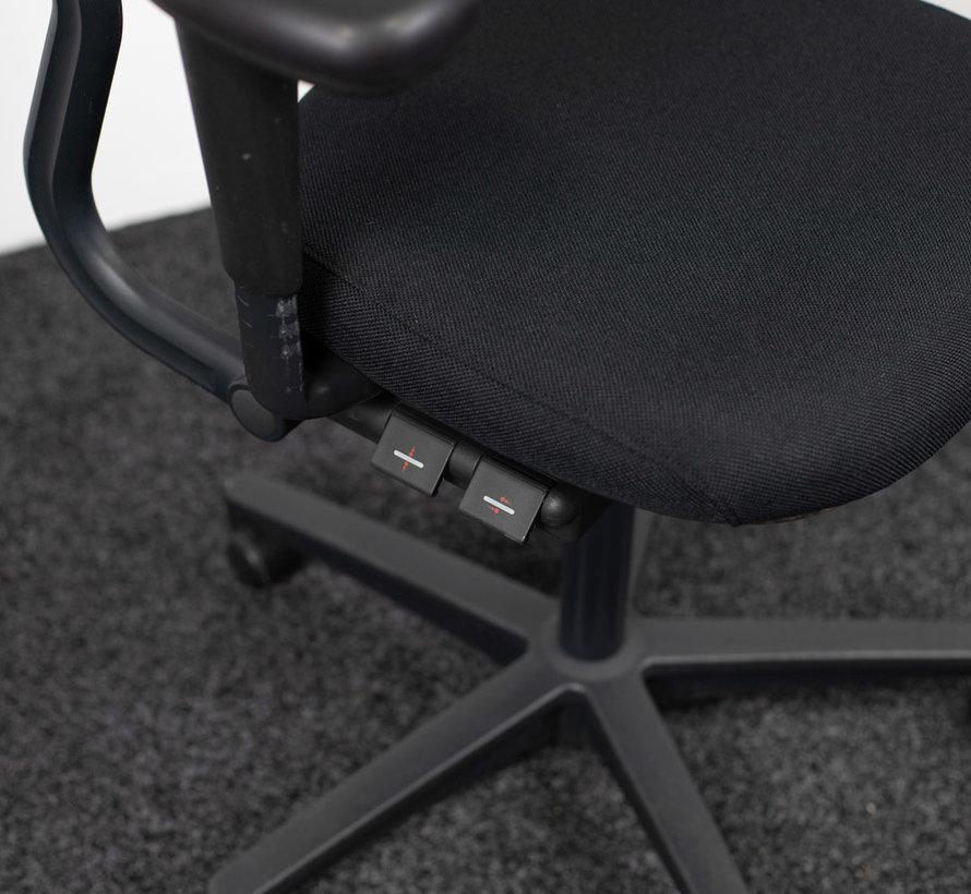 Ahrend 220 Bureaustoel Zwart | Extra Refurbish Opties