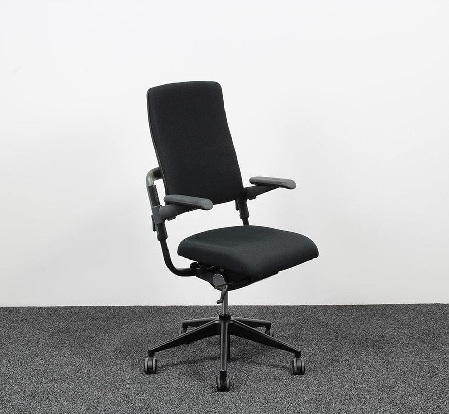 Grahl Xenium Bureaustoel Zwart   Nieuw Gestoffeerd