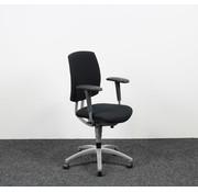 Drabert Drabert Entrada Bureaustoel Zwart | Nieuw Gestoffeerd
