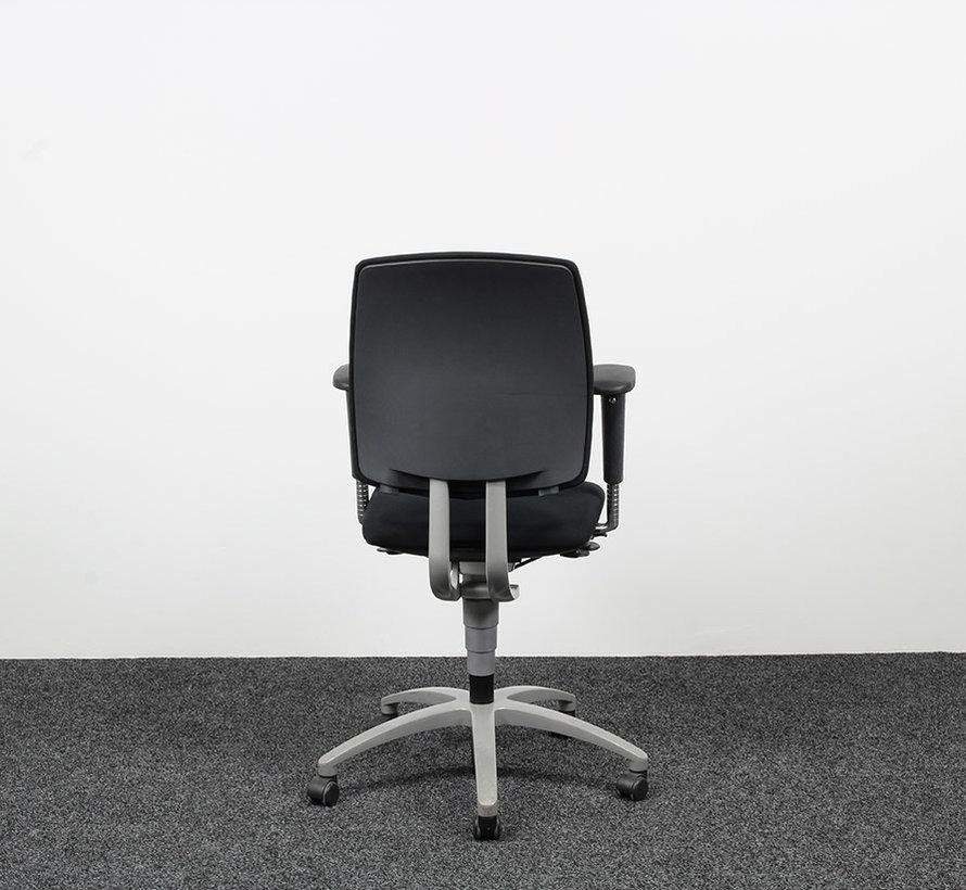 Drabert Entrada Bureaustoel Zwart | Nieuw Gestoffeerd
