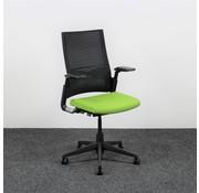 Ahrend Ahrend 2020 Extraverta Bureaustoel Lime Groen & Zwart