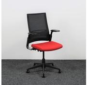 Ahrend Ahrend 2020 Extraverta Bureaustoel Rood & Zwart