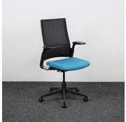 Ahrend Ahrend 2020 Bureaustoel Blauw & Zwart