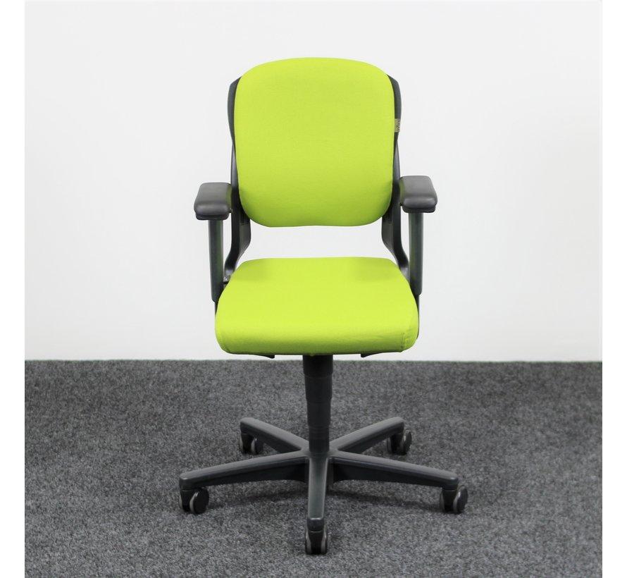 Ahrend 230 Bureaustoel Lime Groen | Nieuw Gestoffeerd