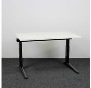 Ahrend Ahrend Essa Knop Verstelbaar Bureau | 120 x 80 cm | Nieuw Wit Blad