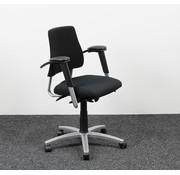 BMA Ergonomics BMA Axia Bureaustoel Zwart | Nieuw Gestoffeerd