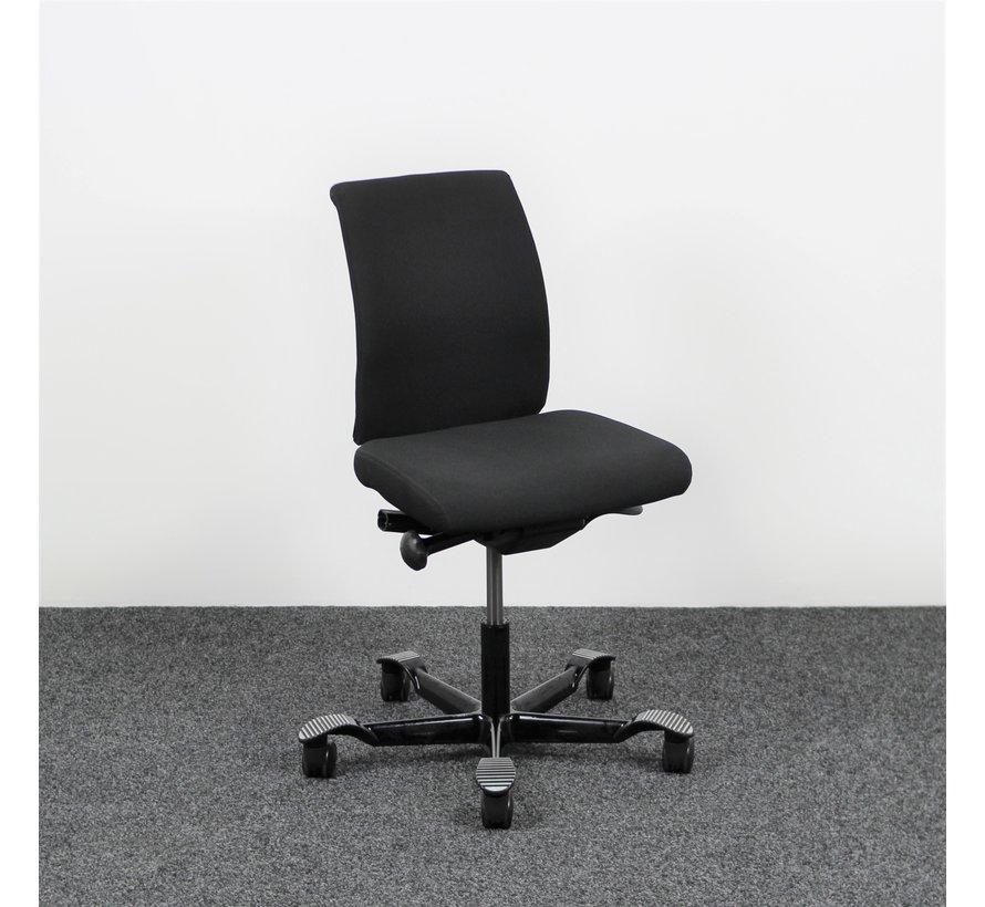 HAG H05 Bureaustoel Zwart (Zonder Armsteunen)