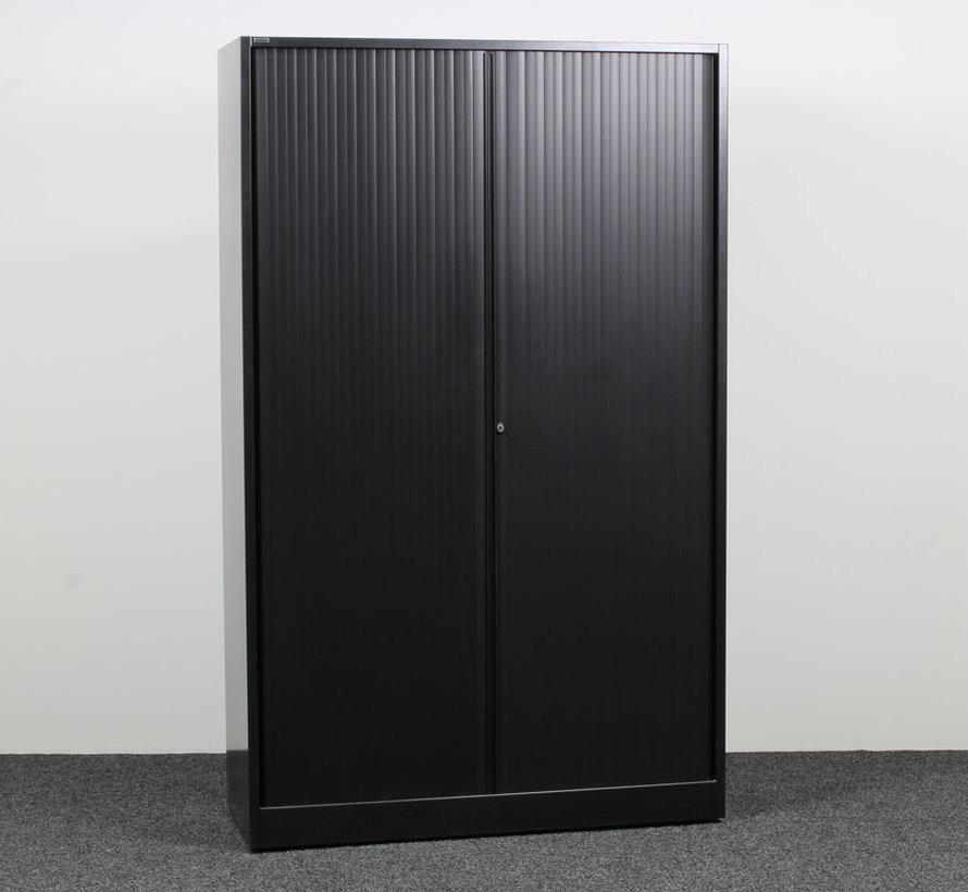 Ahrend Roldeurkast Zwart   195 x 120 x 45 cm
