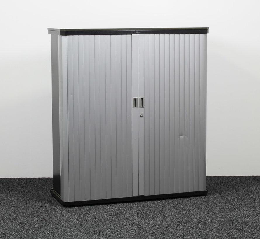Gispen Octa Roldeurkast | 135 x 120 x 50 cm - Grijs