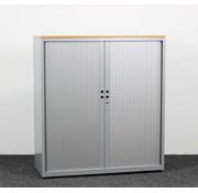 Gispen Gispen Meta Roldeurkast Grijs | 132 x 120 x 47 cm