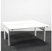Vepa Duo Bureau Werkplek Vepa | 160 x 80 cm Wit Blad