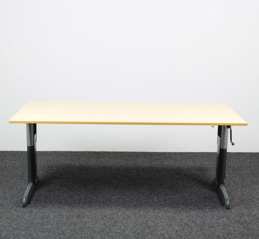 Gispen Work Slingerbureau Ahorn - 180 x 90 cm