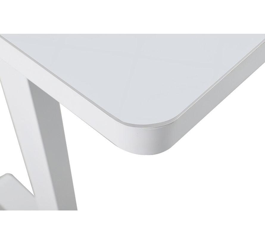 Elektrisch Zit-Sta Bureau 120x60 cm - Wit Frame