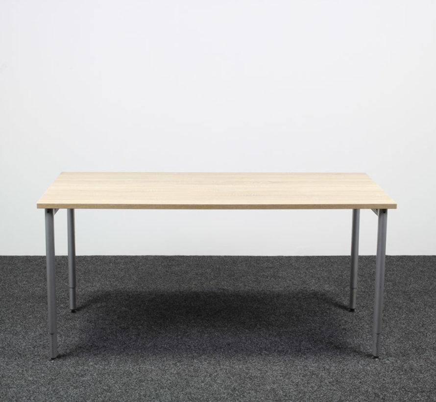 Ahrend 500 Kantinetafel Midden Eiken Blad - 160 x 80 cm