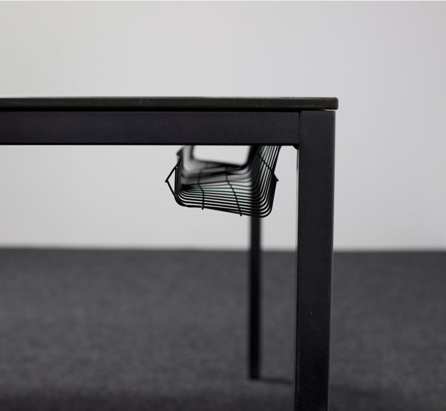 Verrijdbare Kantinetafel Ahorn Blad - 160 x 120 cm