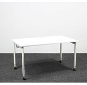 Ahrend Ahrend 500 Kantinetafel Nieuw Wit Blad - 140 x 80 cm