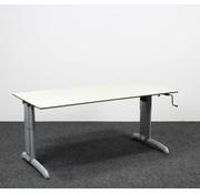 Gispen Gispen Work Slingerbureau Grijs - 160 x 80 cm