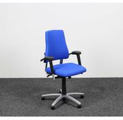 BMA Ergonomics BMA Axia Bureaustoel Blauw | Nieuw Gestoffeerd