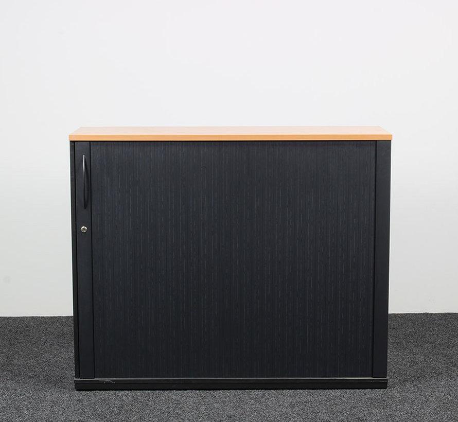 Konig + Neurath Schuifdeurkast Antraciet - 111 x 135 x 42 cm