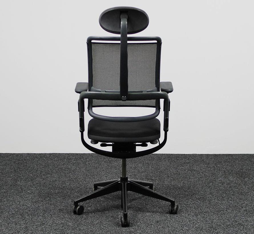 Grahl Xenium Bureaustoel + Hoofdsteun - Zwart
