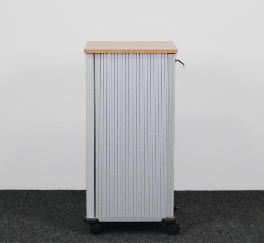 Steelcase Werndl Trolley Grijs/Beuken - 106 x 46 x 51 cm