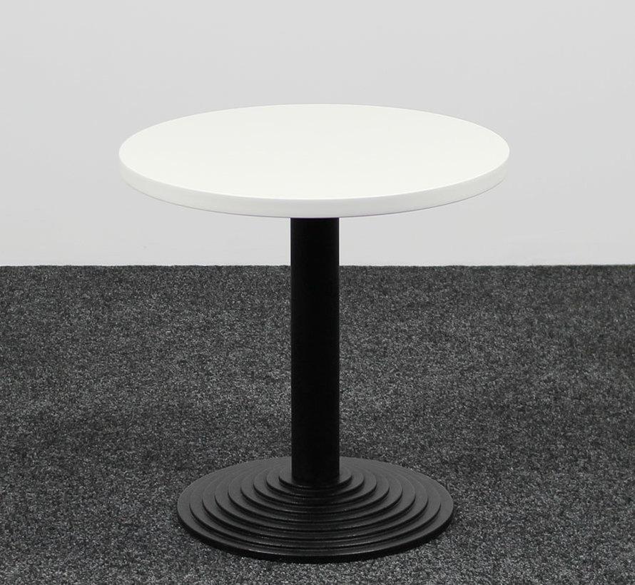 Bijzettafel Rond Wit Blad - Ø 60 cm