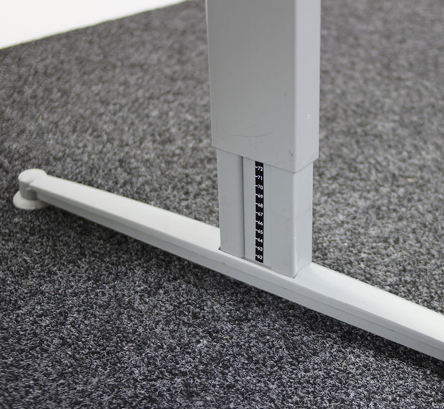 Aspa Emotion Slingerbureau | 160 x 80 cm Nieuw Wit Blad