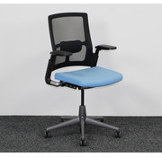 Ahrend Ahrend 2020 Verta Bureaustoel - Zwart & Blauw