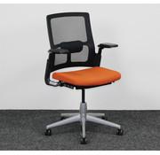 Ahrend Ahrend 2020 Verta Bureaustoel - Zwart & Oranje