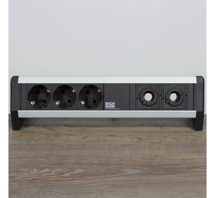 Bachmann Desk 1 Stekkerdoos - 3 Stopcontacten