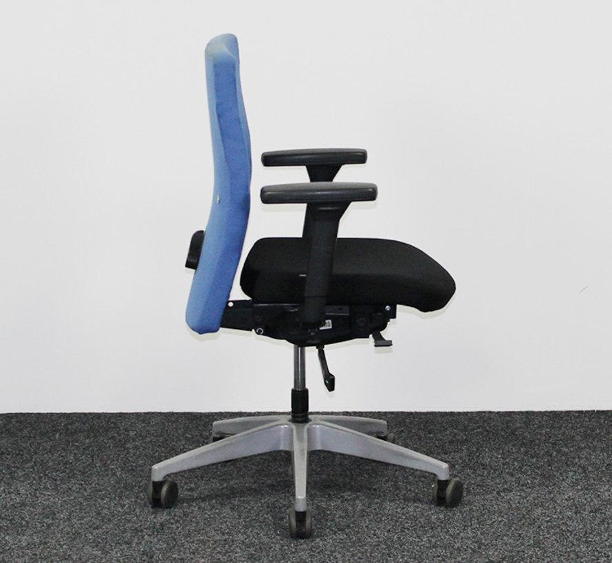 Interstuhl Ataros Bureaustoel Zwart/Blauw