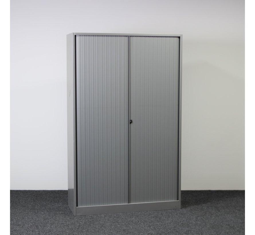 Ahrend Roldeurkast Zilvergrijs | 195 x 120 x 45 cm