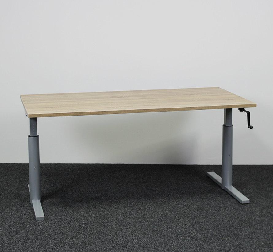 Gispen TM Slingerbureau Nieuw Blad - 160 × 80 cm