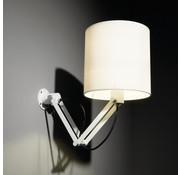 Modular Lighting Instruments Modular Nomad Minimal Short Wandlamp