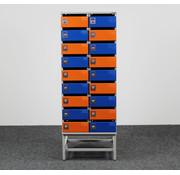 Oostwoud Oostwoud Postkast - 18 Vakken | Blauw & Oranje