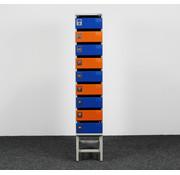 Oostwoud Oostwoud Postkast - 9 Vakken | Blauw & Oranje