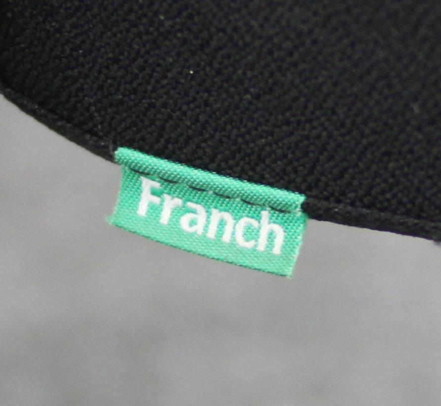 Franch Vergaderstoel Zwart