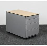 Ahrend Ahrend Ladeblok Aluminium 4 Laden 55 x 42 x 76 cm