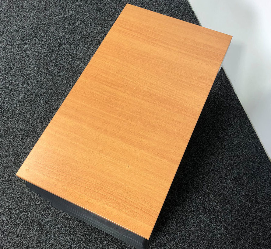 Ahrend Ladeblok Zwart 4 Laden 57 x 42 x 76 cm