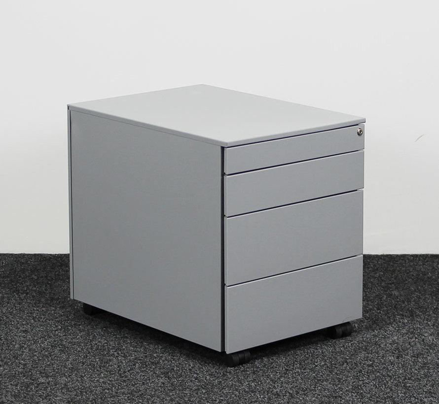 Ladeblok Aluminium 4 Laden 52 x 42 x 58 cm