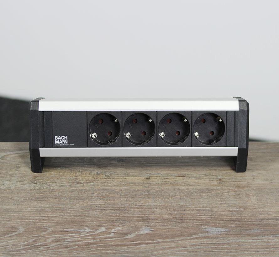 Bachmann Desk Stekkerdoos - 4 Stopcontacten
