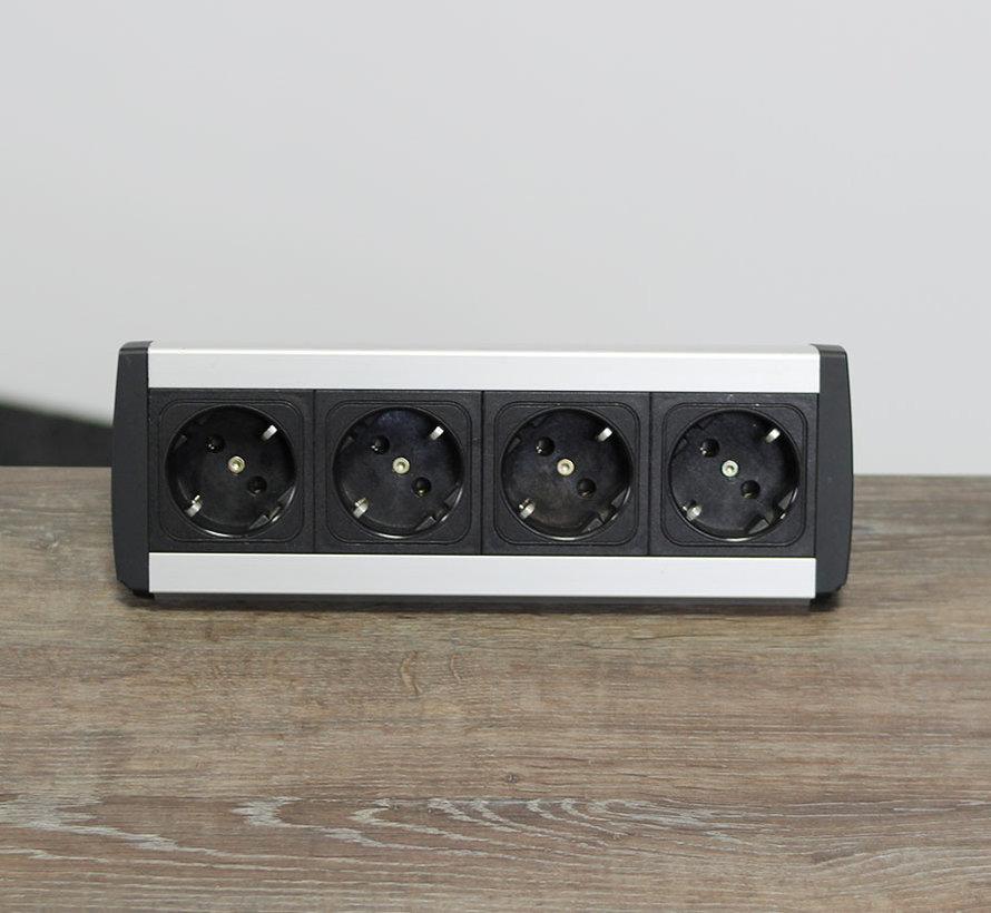 Bureau Stekkerdoos - 4 Stopcontacten