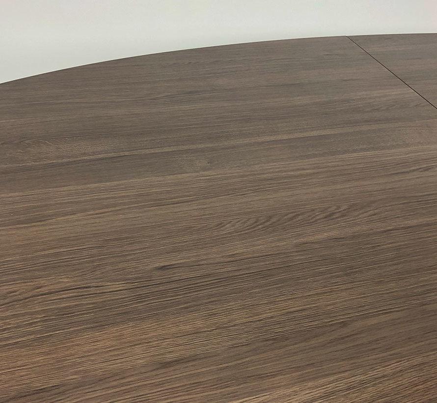 Ahrend Mehes Vergadertafel 280×120 - Nieuw Antraciet Eiken Blad