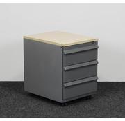 Ahrend Ahrend Ladeblok Aluminium 3-Laden 58 x 42 x 57 cm