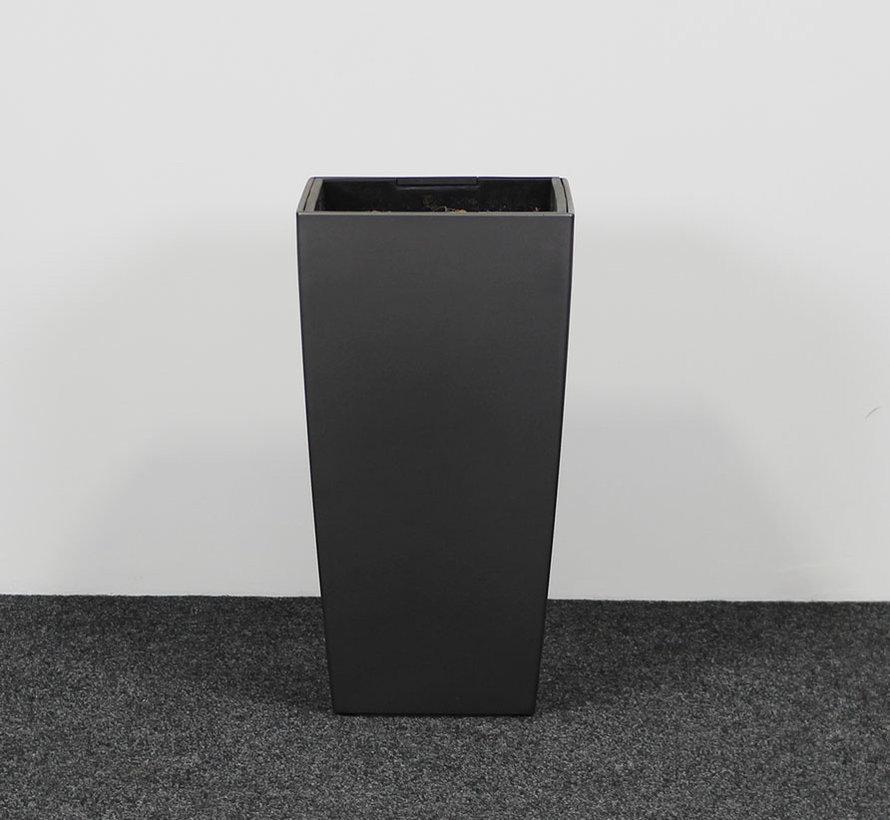 Lechuza Plantenbak Kunststof Antraciet 40 x 40 cm