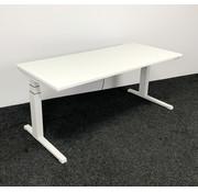 Steelcase Steelcase Elektrisch Zit-Sta Bureau - 180x80 cm Nieuw Wit Blad