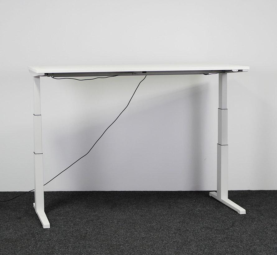 Steelcase Elektrisch Zit-Sta Bureau - 180x80 cm Nieuw Wit Blad