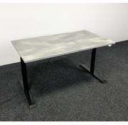 OMT OMT Elektrisch Zit-Sta Bureau 140x80 cm  - Nieuw Betonlook Blad